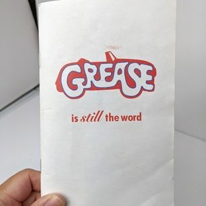 Grease is Still the Word Screenplay